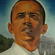 Bless Mr.obama Art Print