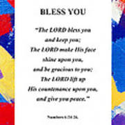 Bless You Poster Art Print