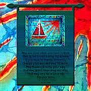 Blessings 1 Art Print
