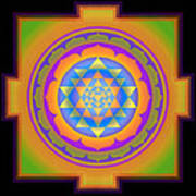 Bliss Yantra Art Print