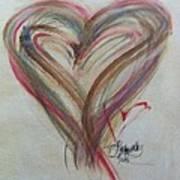 Blissful Heart Art Print