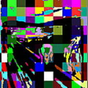 Blocked Scream Art Print