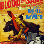 Blood And Sand, Us Poster, From Left Art Print