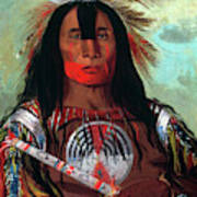 Blood Head Chief, 1832 Art Print