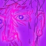 Blood Sweat Tears Fears  Art Print