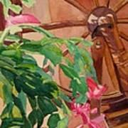 Bloomin' Cactus Art Print