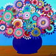 Blooming Florals 1 Art Print