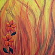 Blooming In Hell 1 Art Print