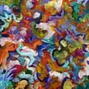 Blooming Joy Art Print