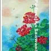 Bloosom 2 Art Print