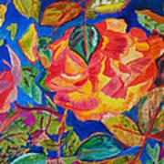 Blossoms Aglow Art Print