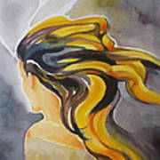 Blowin' In The Wind Art Print by Patricia Howitt