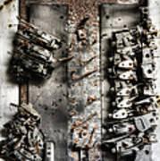 Blown Circuit Art Print