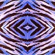 Blue 42 Art Print