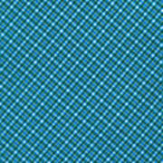 Blue And Teal Diagonal Plaid Pattern Textile Background Art Print