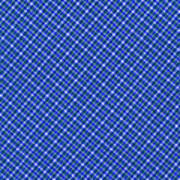 Blue And White Diagonal Plaid Pattern Cloth Background Art Print