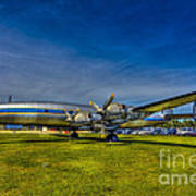 Blue And Yellow Connie Art Print by Marvin Spates