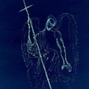 Blue Angel Series Art Print