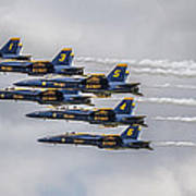 Blue Angels Art Print by Jeff Swanson
