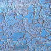 Blue Bark Art Print