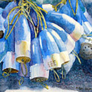Blue Bundle Art Print