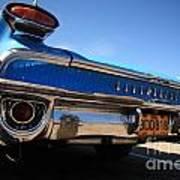 Blue Car Bumper Havana Art Print