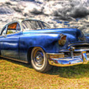 Blue Chevy Deluxe - Hdr Art Print by Phil 'motography' Clark