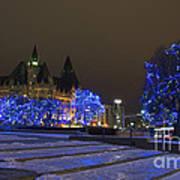 Blue Christmas.. Art Print