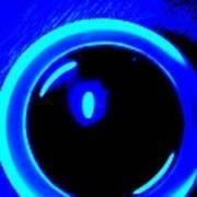 Blue Circle Art Print