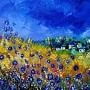 Blue Cornflowers 774180 Art Print