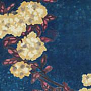 Blue Cream Art Print