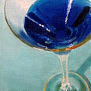 Blue Curacao Art Print
