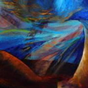 Blue Depth Art Print