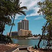 Blue Diamond Condos Miami Beach Art Print