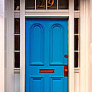 Blue Door 19 Art Print
