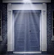 Blue Door Print by Svetlana Sewell