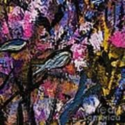Blue Fish Aquarium Art Print