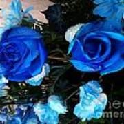 Blue For Hims Art Print