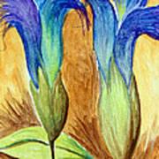 Blue Gentian Art Print
