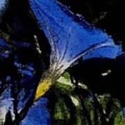 Blue Glory Art Print