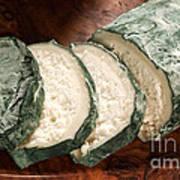 Blue Goat Cheese Art Print
