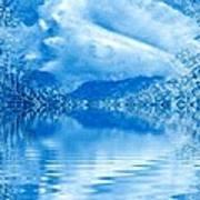 Blue Healing Art Print