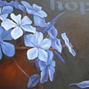Blue Hope Art Print