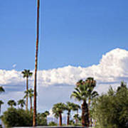 Blue Horizon Palm Springs Art Print