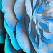 Blue Impatience Art Print
