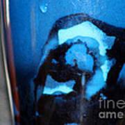 Blue Instant Art Print