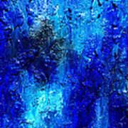 Blue Lagoon 13 Art Print