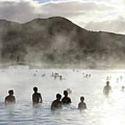 Blue Lagoon Geothermal Spa Art Print