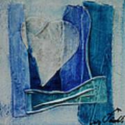 Blue Love 11 Art Print