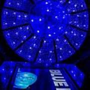 Blue Man Group Chandelier Art Print